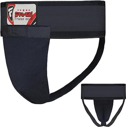 RAD Groin Guard Protective MMA Safety Cup Martial Arts Kick Boxing Shorts Abdo