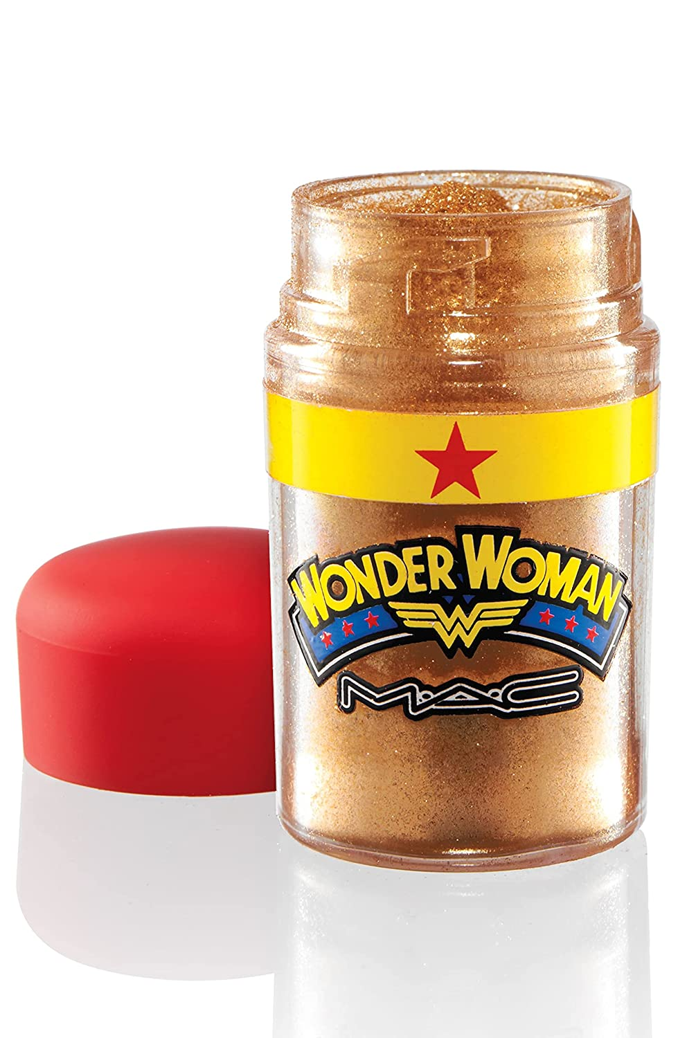 """M.A.C Wonder Woman """"Reflects Bronze"""" Reflects Glitter – Full Size Eyeshadow Eye Color Limited Edition New in Box"""