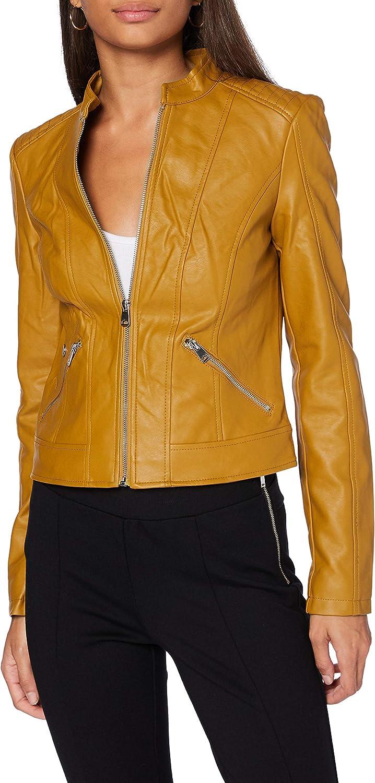Vero Moda Vmkhloe Favo Coated Jacket Col Chaqueta para Mujer