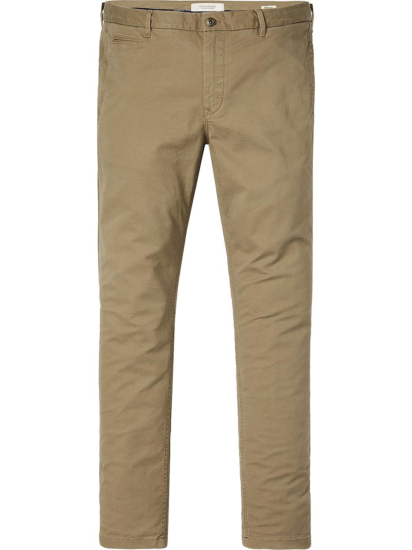 TALLA 31W / 32L. Scotch & Soda Classic Chino In Stretch Twill Quality, Pantalones para Hombre