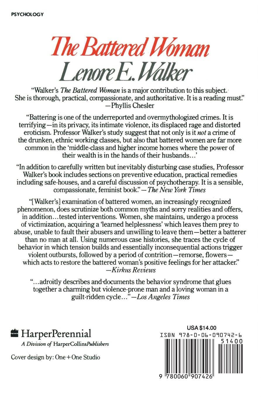 Lenore Walker The Battered Woman Syndrome Pdf border=