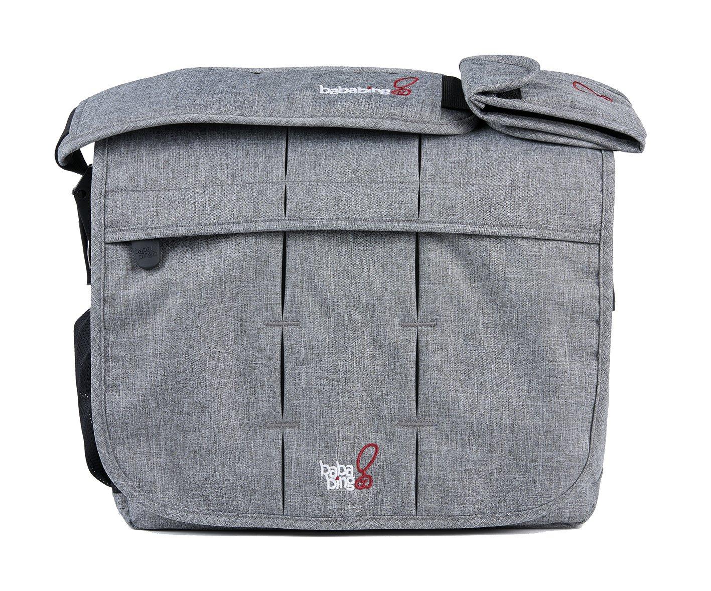 BabaBing! Daytripper Deluxe Changing Bag, Grey Marl baba bing BB57-001