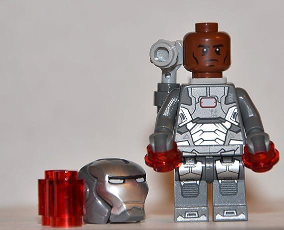 Iron Man Rare Minifigure MOC Fits Lego Marvel War Machine Black widow 250297