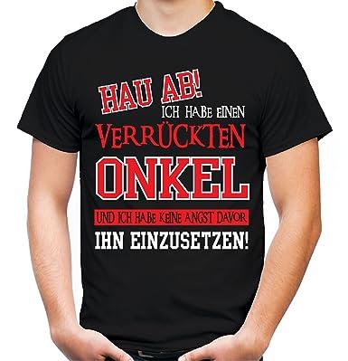 Verruckter Onkel T Shirt Geburtstag Geschenk Geschenkidee