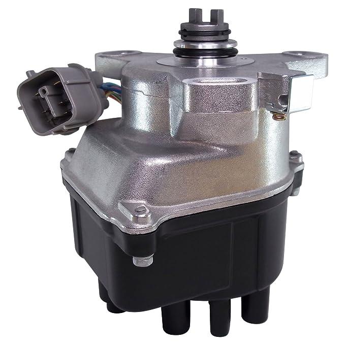 Distribuidor de encendido para 96 - 98 Honda Civic 1.6L SOHC cívica del sol Tec Fit td-80u/td-98u/td80u/td98u: Amazon.es: Coche y moto