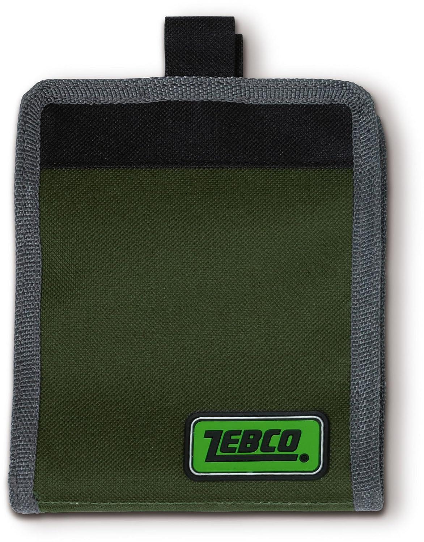 Zebco - Tarjetero, color verde 8420018