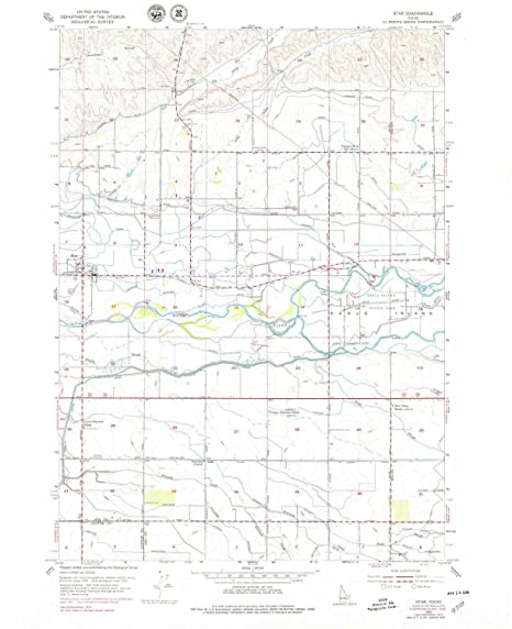 Amazon Com Yellowmaps Star Id Topo Map 1 24000 Scale 7 5 X 7 5