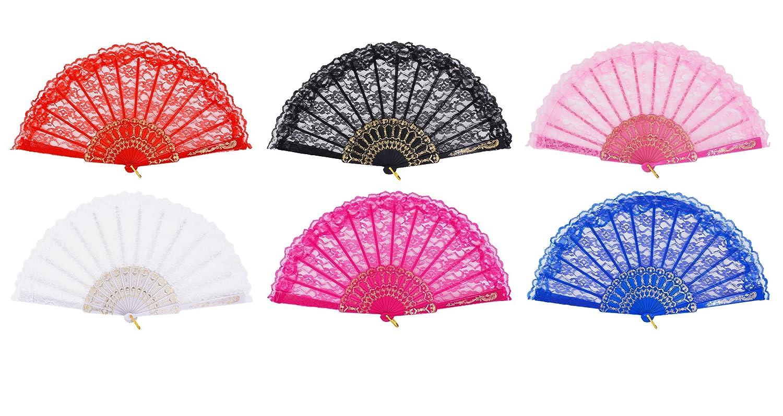 Amazon.com: Hand fans for women, Amajiji \