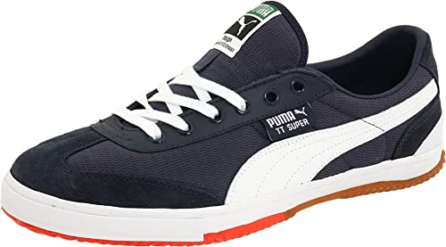 0bf56be383c9 Puma TT Super CC Mens Blue Suede Sneakers Shoes Size 11 UK UK 11 ...
