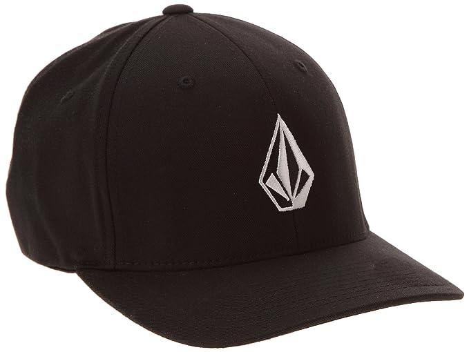 Volcom Full Stone Xfit Cap - Black, S/M