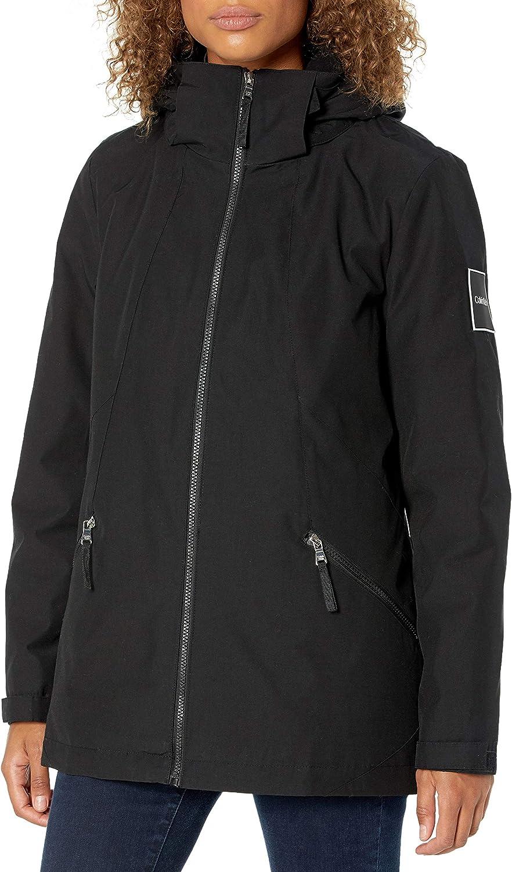 Calvin Klein Women's Dedication National uniform free shipping Zip Systems Front Coat