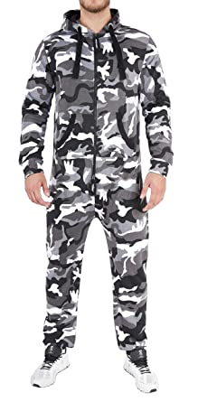 Finchman Herren Jumpsuit Jogger Jogging Anzug Trainingsanzug Overall   Amazon.de  Bekleidung a189cc3c5c