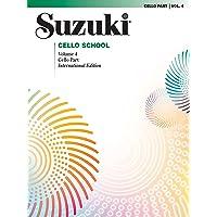 Suzuki Cello School, Volume 4: Cello Part