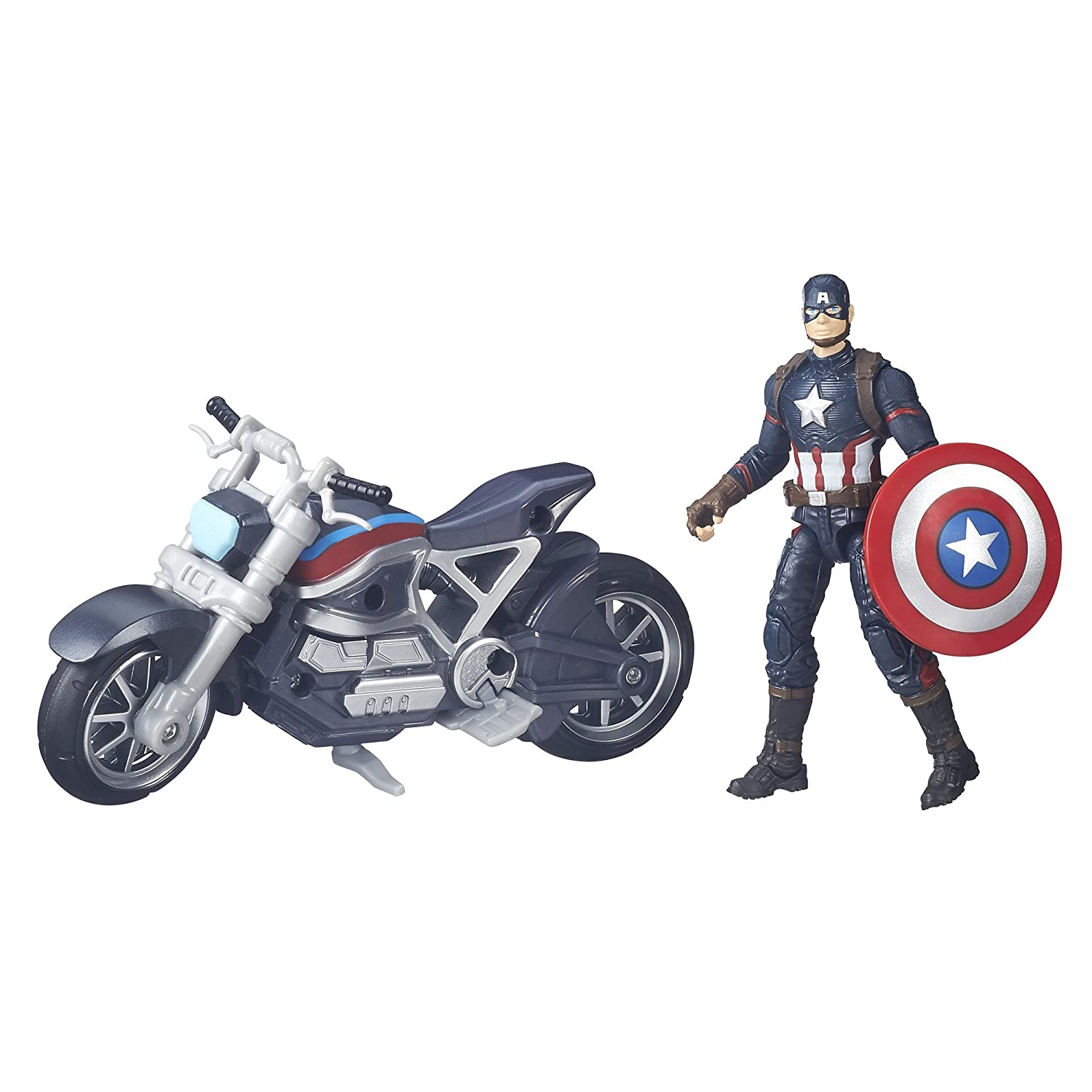 Marvel Captain America Movie 3.75-Inch Legends Action Figure and Vehicle B6354