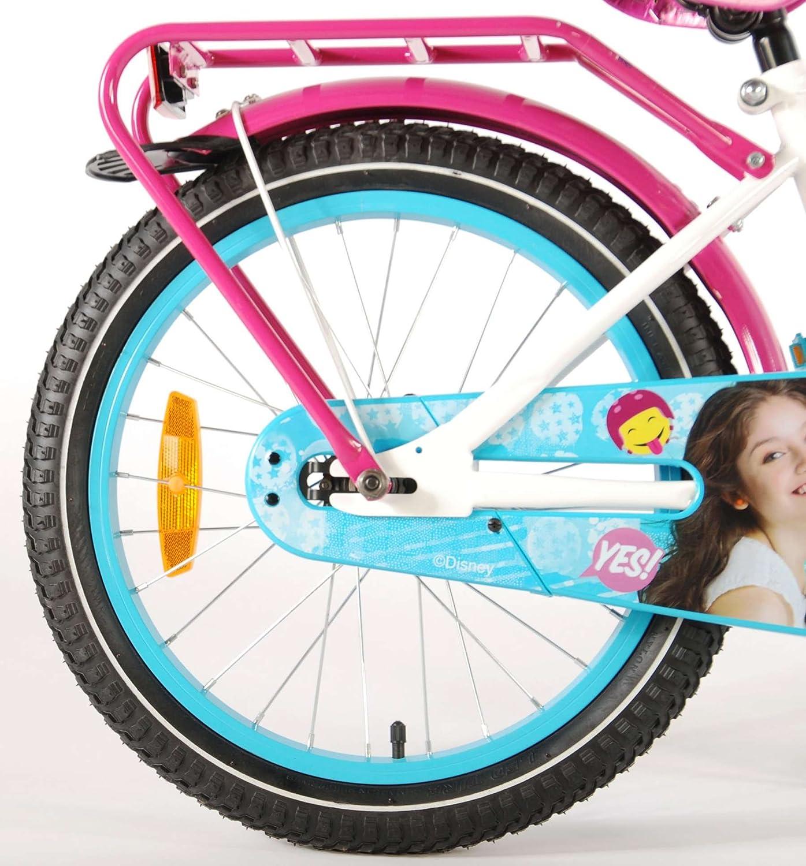 Bicicleta Niña Soy Luna 18 Pulgadas Freno Delantero al Manillar y ...
