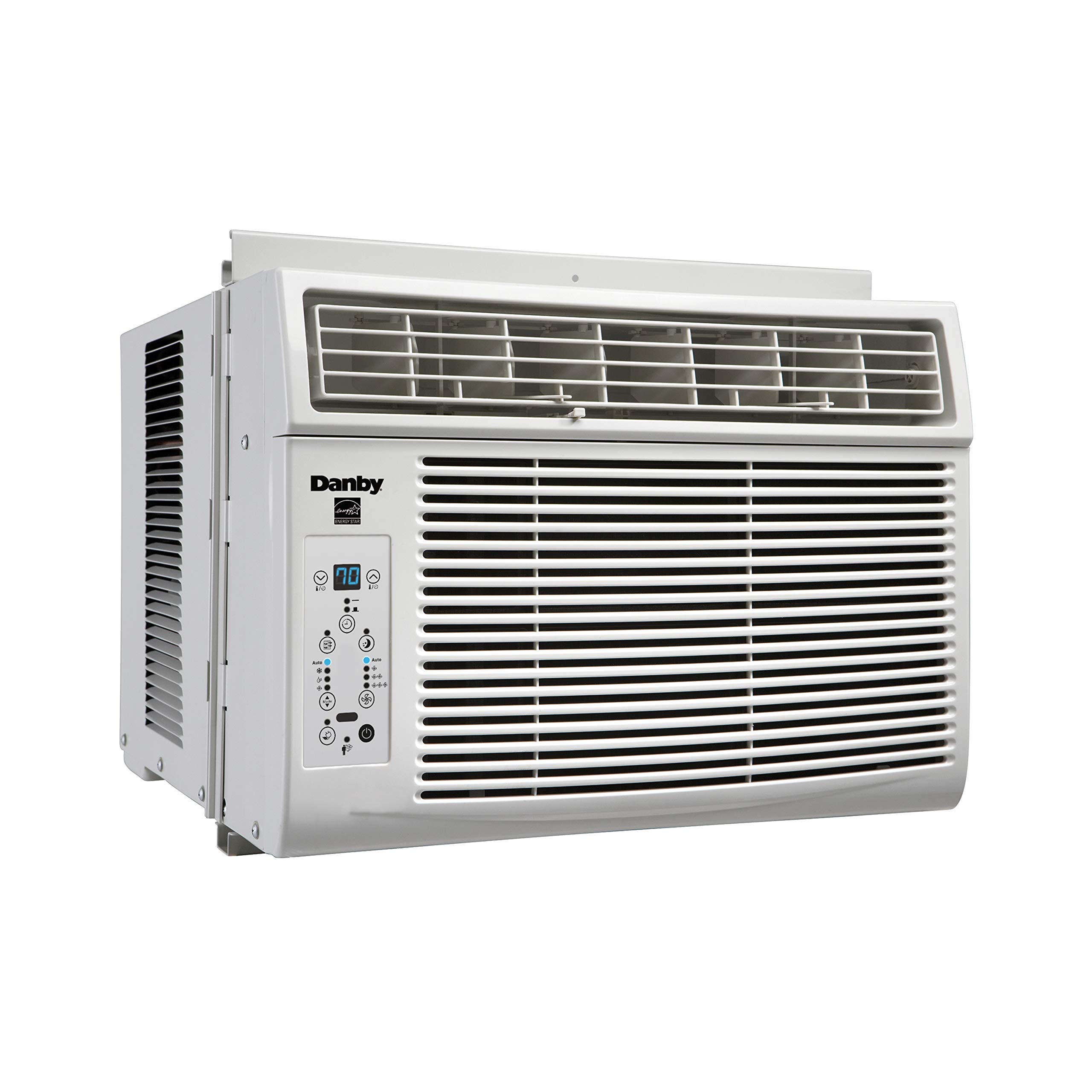 Danby 6,000 BTU Window Air Conditioner with Remote Control, White DAC060EB1WDB by Danby