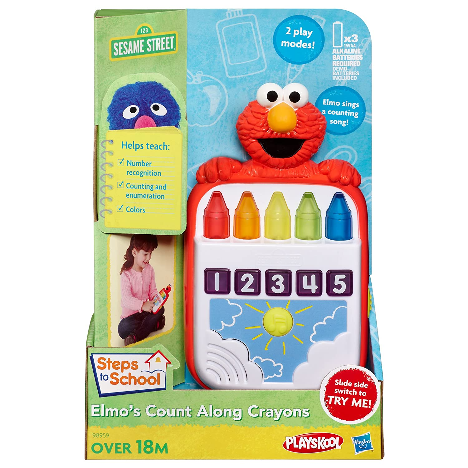 81dXfSIDfXL._SL1500_ amazon com playskool sesame street steps to school elmo's count  at gsmx.co