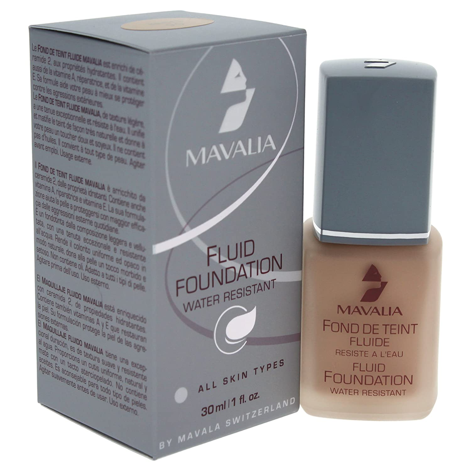 Amazon.com : Mavala Fluid Foundation, No.03 Beige-Dore, 1 Ounce : Foundation Makeup : Beauty