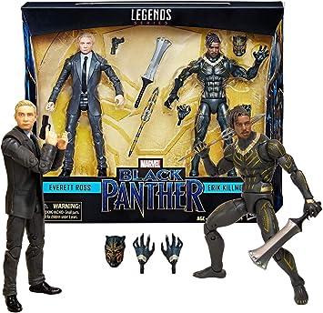 Marvel Legends Black Panther - Everett Ross Erik Killmonger 2 Pack ...