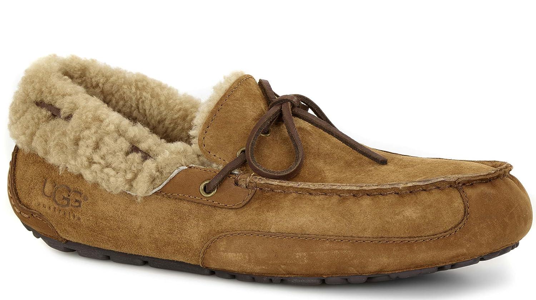 b5c5cb5e39d UGG Men's Fleming Chestnut Suede Slipper 13 D (M): Amazon.ca: Shoes ...
