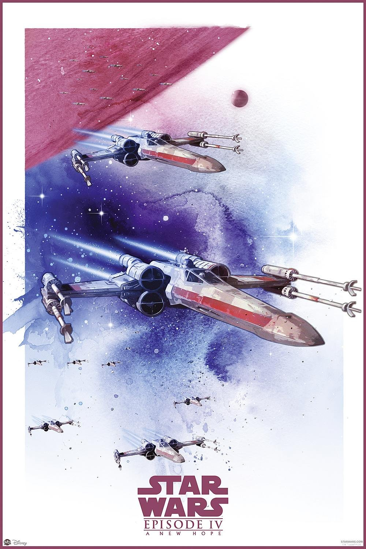 Nifty Star Wars Poster -Episode IV - VI - 3er Set Raumschiffe ...