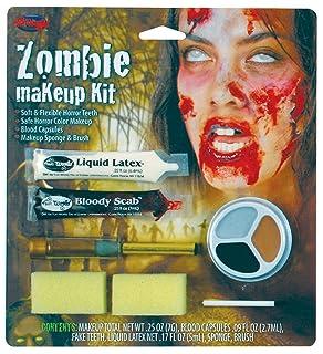 Zombie Make Up Kit. Female bristol novelty MU136