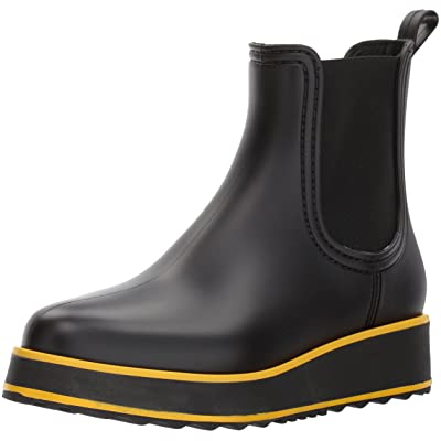 Bernardo Women's WILLA RAIN Boot, Black Rubber, 11M M US | Boots