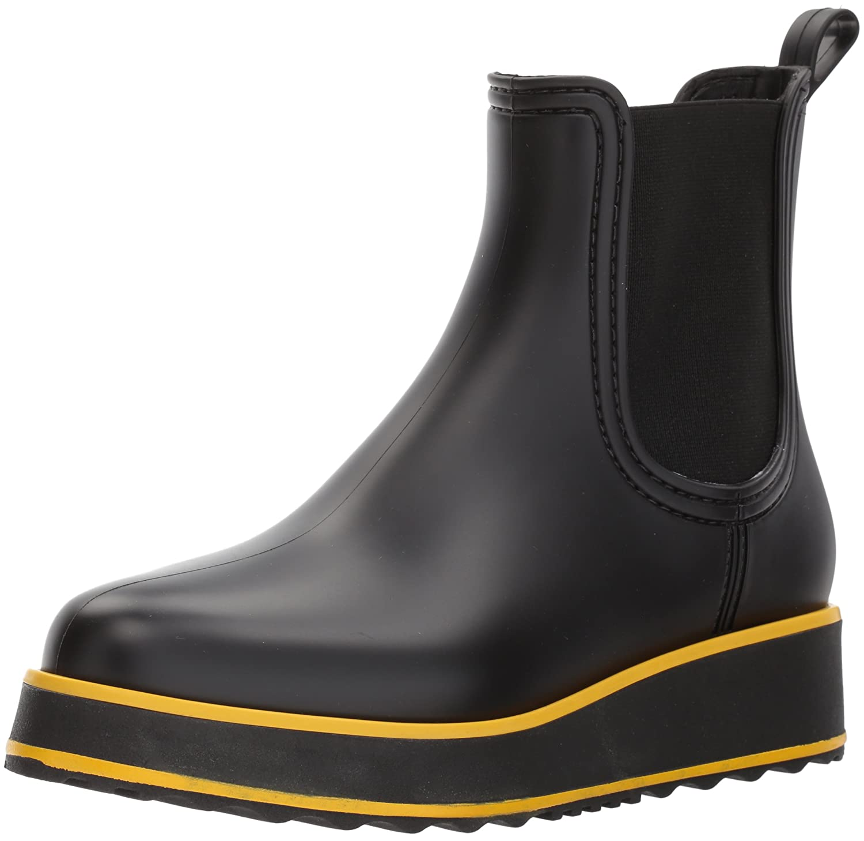 Bernardo Women's Willa Rain Boot B06XYZ59XG 6 B(M) US|Black Rubber