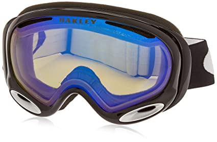 65b0075d6f Oakley A Frame 2.0 Adult Snow Snowmobile Goggles Eyewear - Jet Black H.I.  Yellow