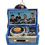 Christopher Radko Beatles Record Player Christmas Ornament