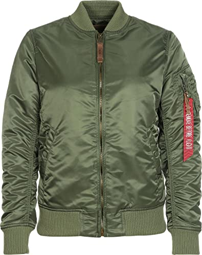 Alpha Industries Jacke MA-1 VF 59 Wmn, Color:sage-green;Größe:XL