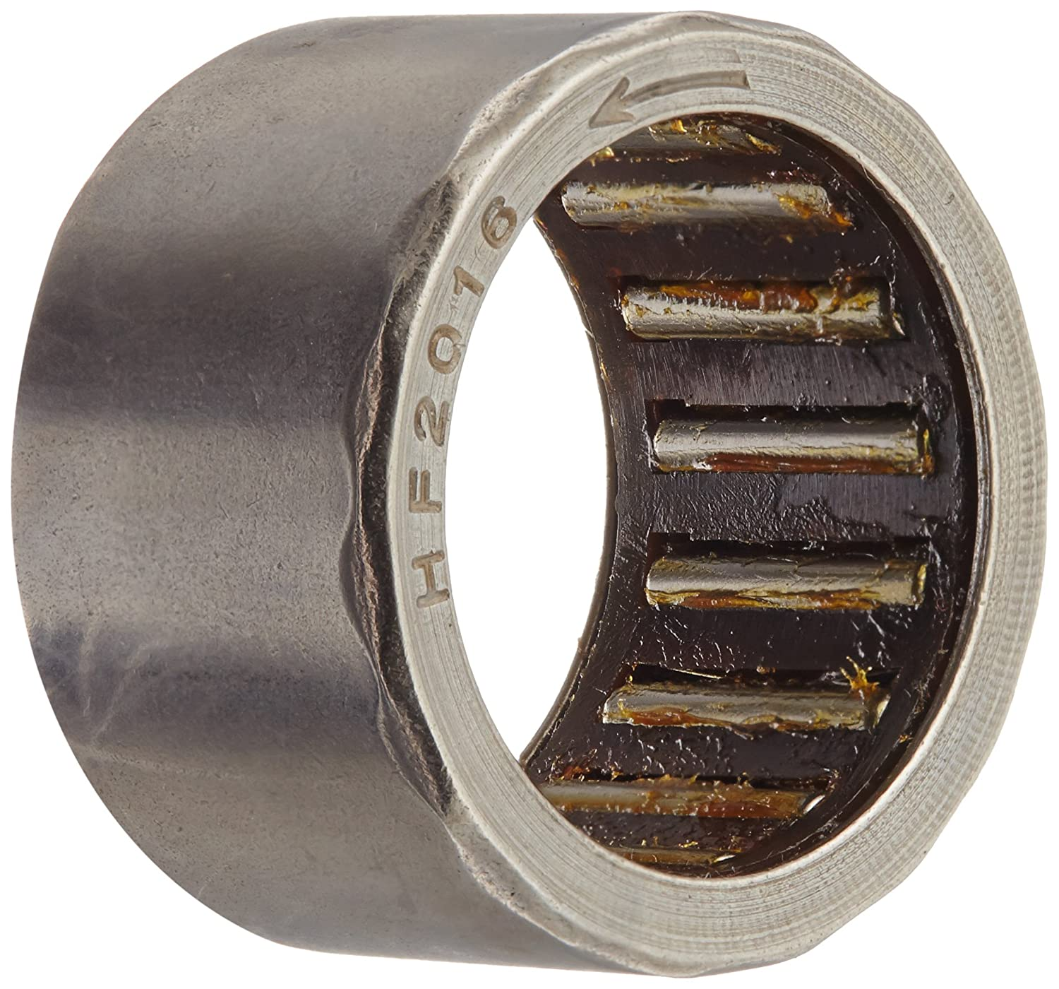 One Way Bearing 16mm Bore 22mm OD 26mm Width uxcell HFL1626 Needle Roller Bearings