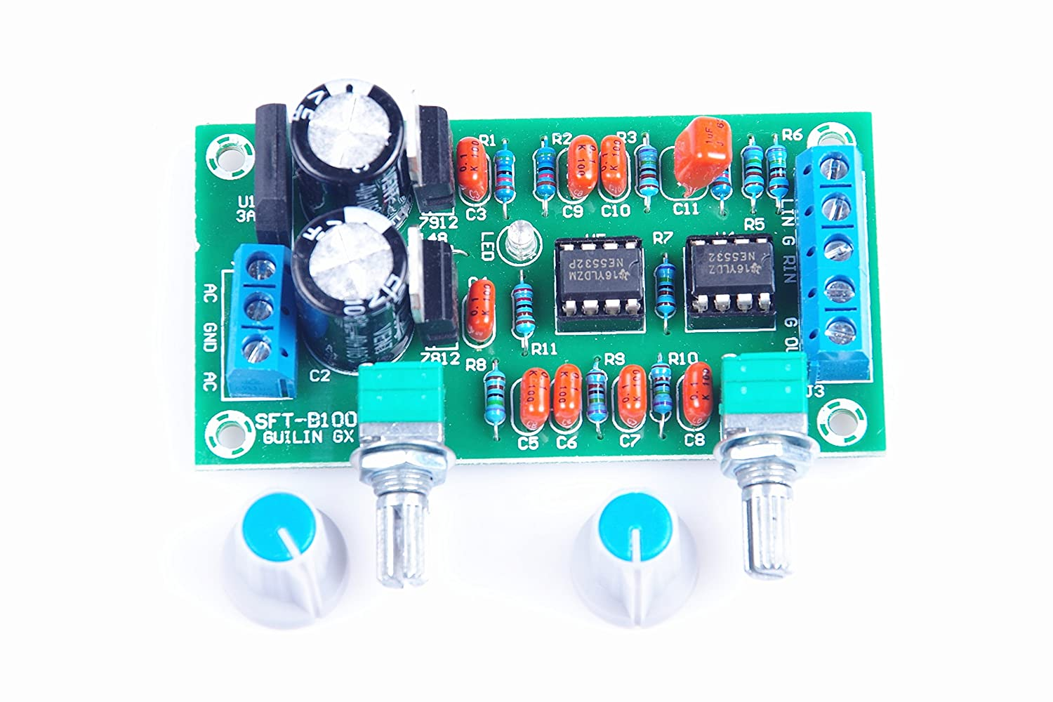 Knacro Ne5532 Low Pass Board Filter Preamp Subwoofer Circuit Diagram Cannon Pitch Hi Fi Home Audio Theater