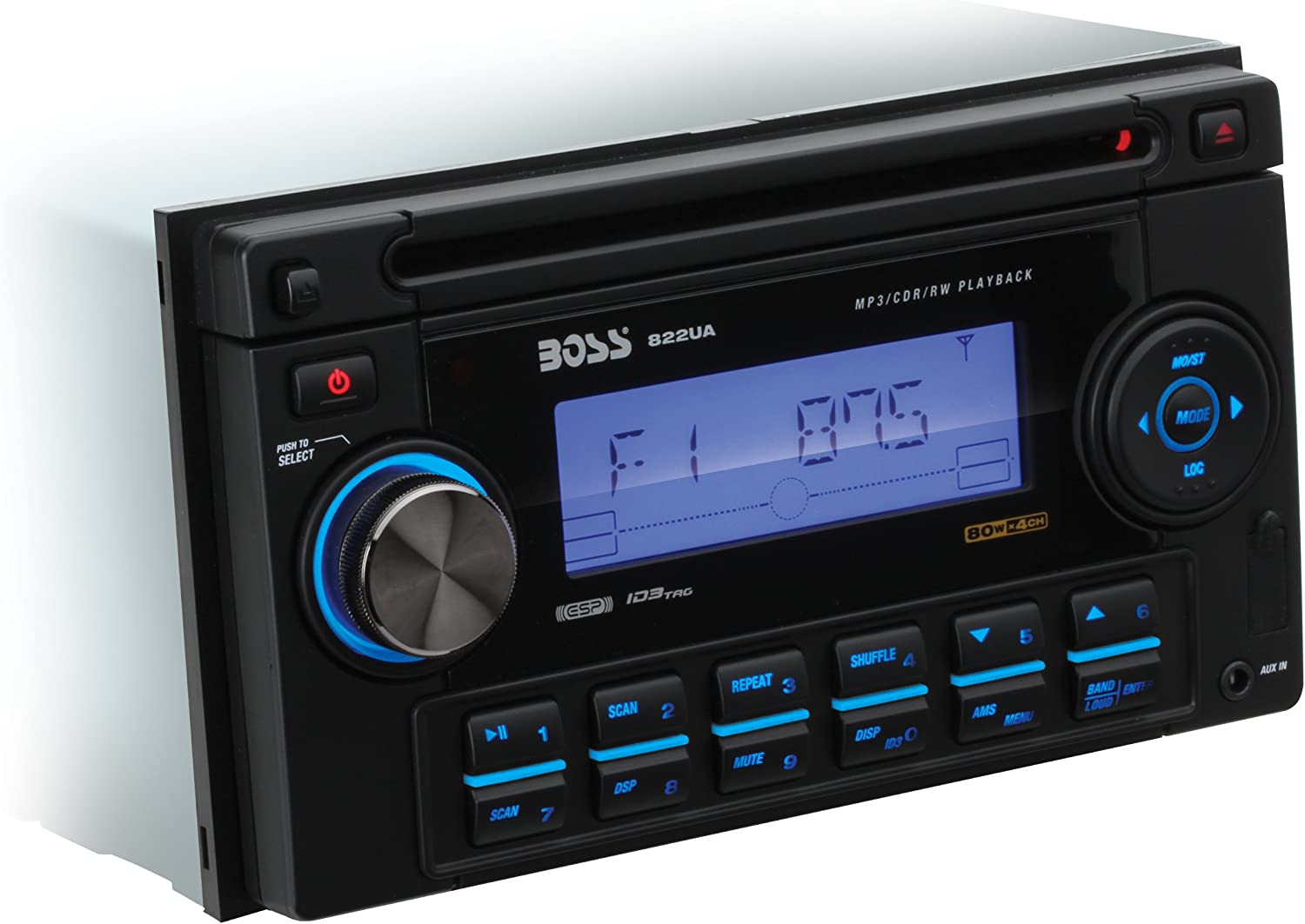 [SODI_2457]   Amazon.com: BOSS Audio Systems 822UA Double-DIN MP3 Player Receiver -  Discontinued by Manufacturer: Car Electronics   Boss 822ua Wiring Harness      Amazon.com