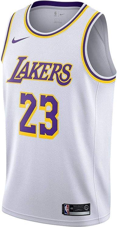 Nike Lal M Nk Swgmn JSY Home - Camiseta 1ª Equipación Los Angeles ...