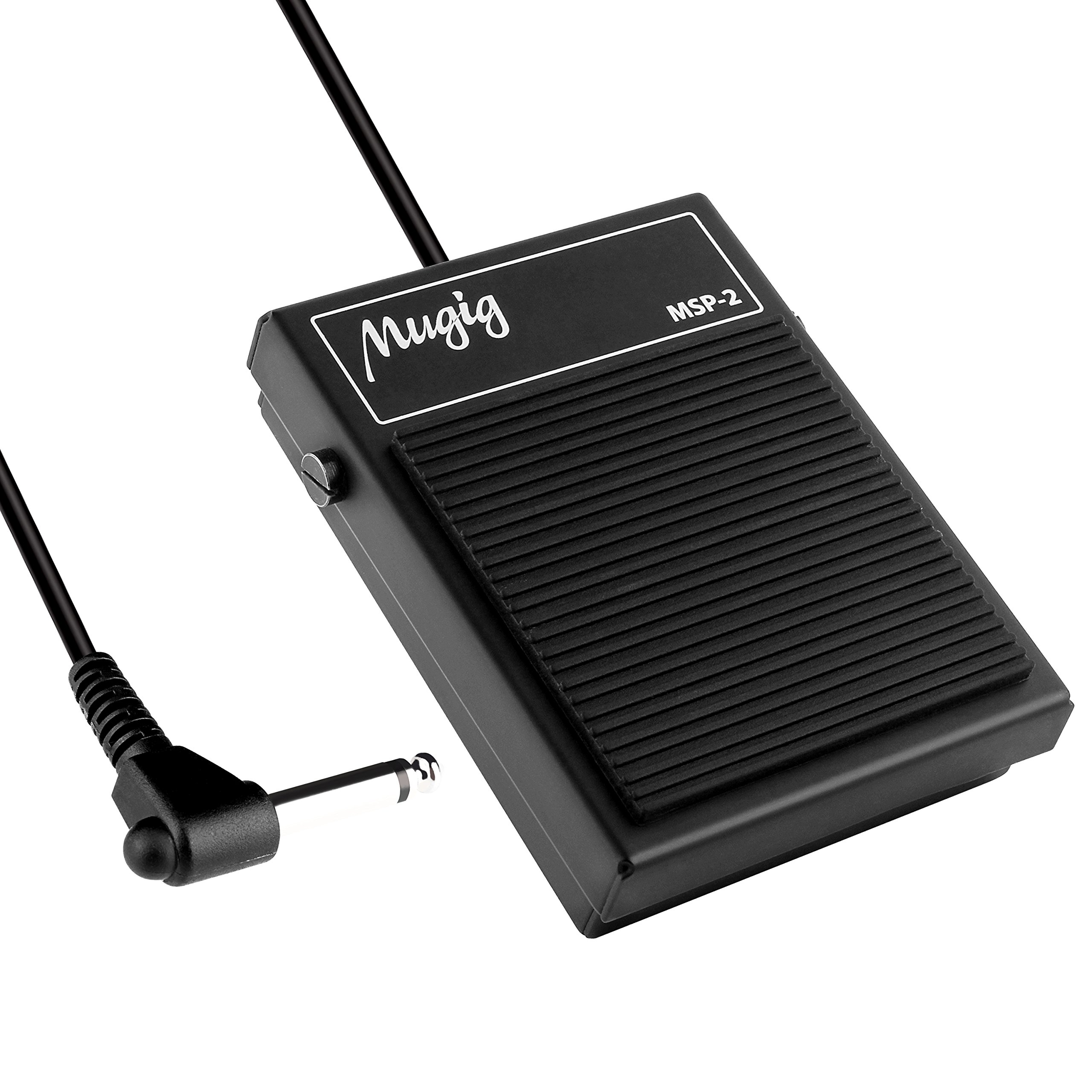 Mugig Sustain Pedal MSP-2,Universal Foot Pedal for Keyboard Digital Piano Foot Pedal