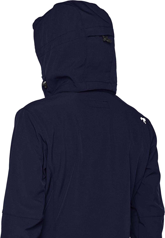 Damen M/ädchen Jacke Regenjacke Kapuze HKM SPORTS EQUIPMENT Softshelljacke Sport 128-XXL Pantalon Mixte Bleu fonc/é 176 cm