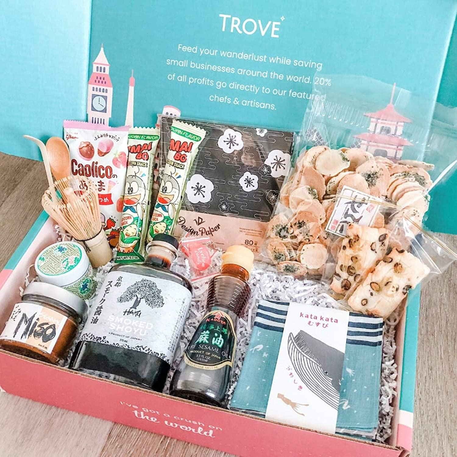 TROVE - Travel From Home Subscription Box