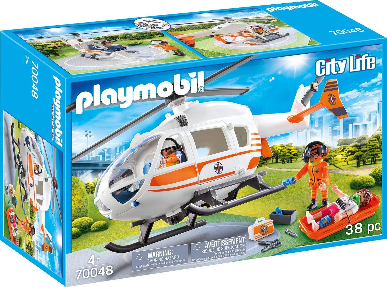 Playmobil Hélicoptère de secours promo noel