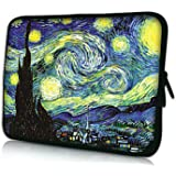 Elonbo Starry Night 13-13.3 Inch Waterproof Neoprene Sleeve Case Bag / Notebook Computer Case / Briefcase Carrying Bag / Ultrabook Laptop Bag Case / Pouch Cover for Apple MacBook Pro 11.3-inch with Retina Display / MacBook Air 13.3-inch / ASUS Chromebook HD / Toshiba CB35-B3330 / Dell Inspiron 13 / Lenovo Yoga 2 Pro / for HP Stream 13 Laptop/ HP Chromebook 14 / Samsung / Sony / Acer