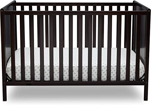 Delta Children Logan 4-in-1 Convertible Crib Dark Chocolate See More Styles and Color
