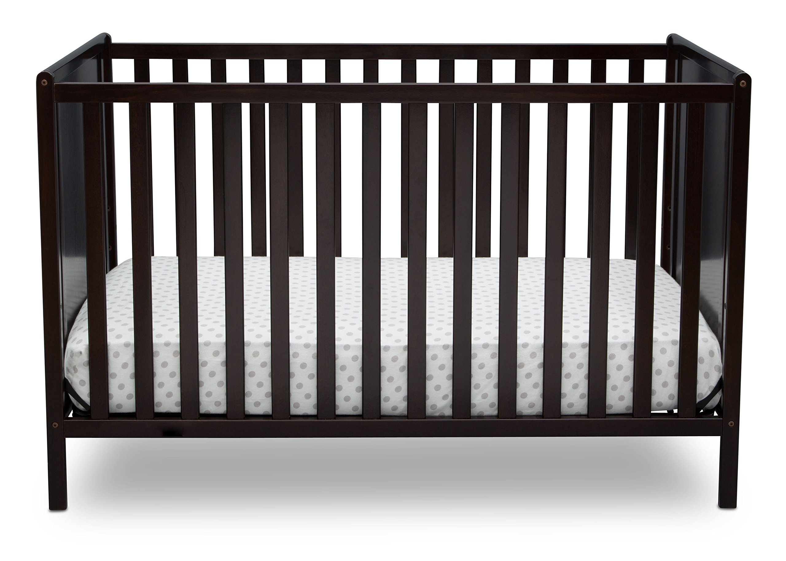 Delta Children Logan 4-in-1 Convertible Crib Dark Chocolate