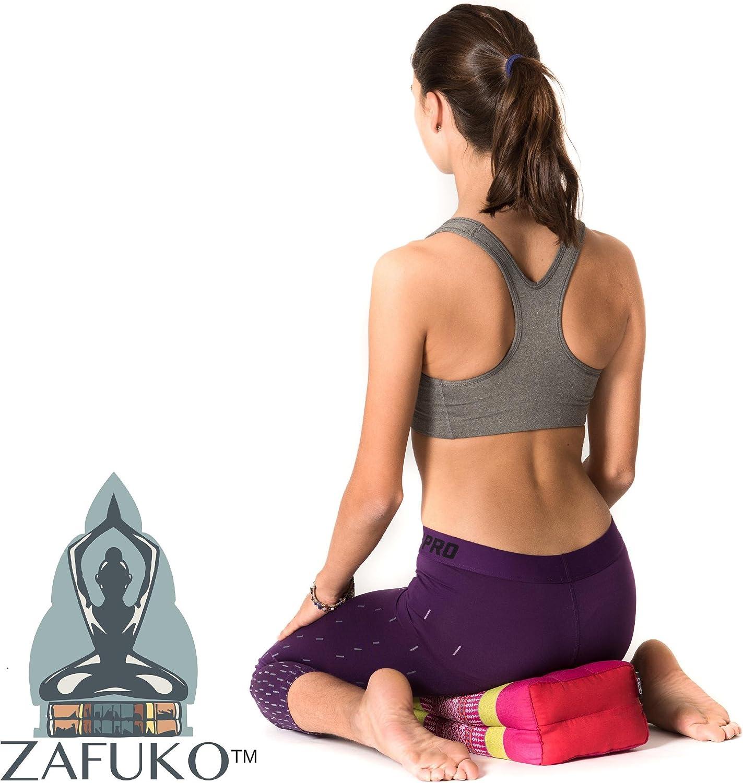 Zafuko Standard Meditation and Yoga Cushion - Double Green
