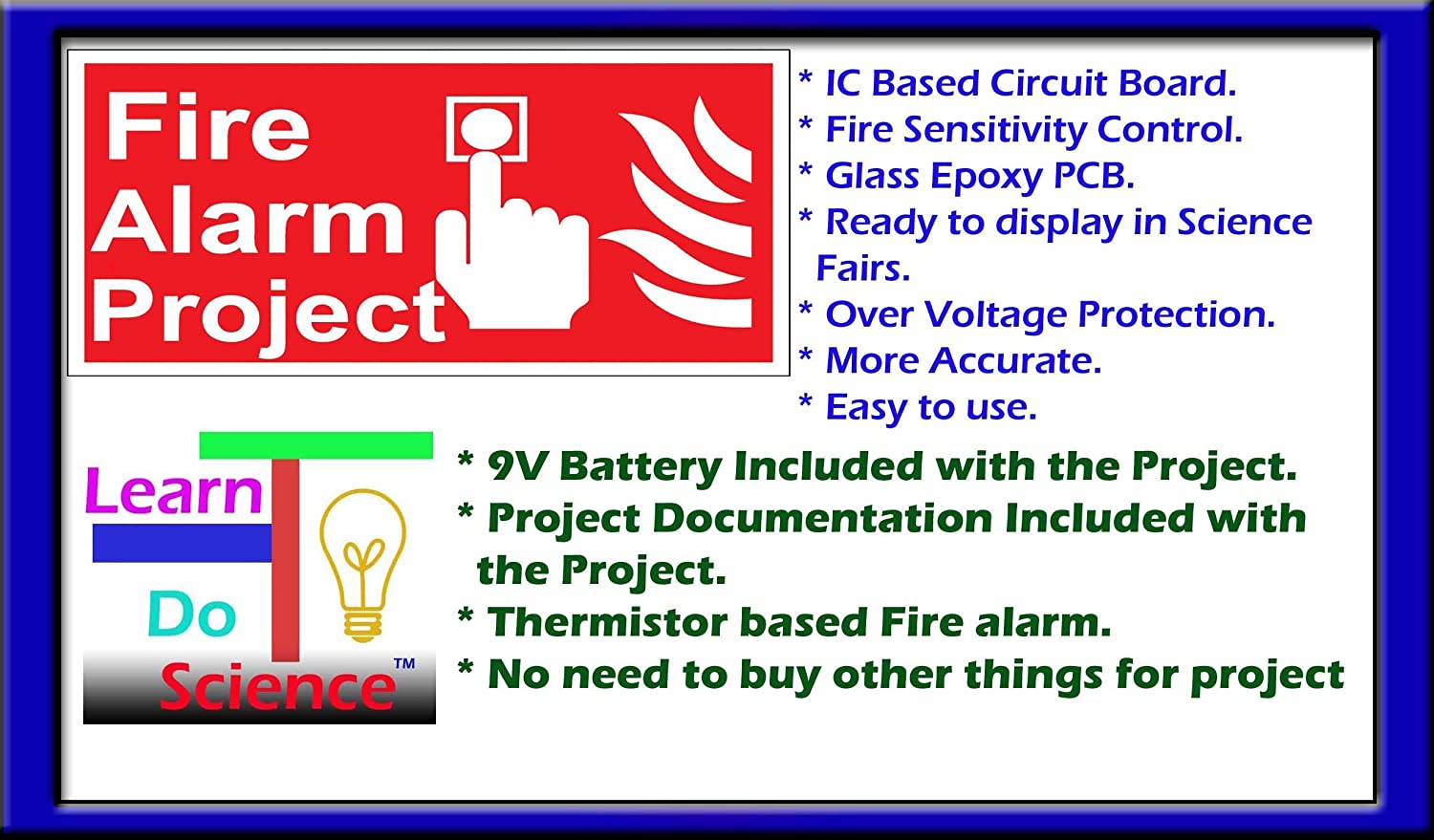 Buy Fire Alarm Project Science Kit Online At Low Prices In India Mini Projects Over Under Voltage Protection Of Electrical Appliances