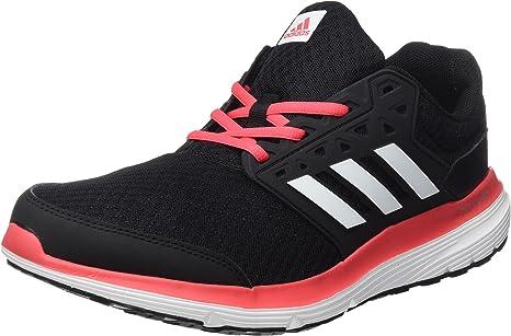 adidas Galaxy 3 W, Zapatillas de fútbol Americano para Mujer, Nero Negbas Ftwbla Rosbas, 42 EU: Amazon.es: Zapatos y complementos