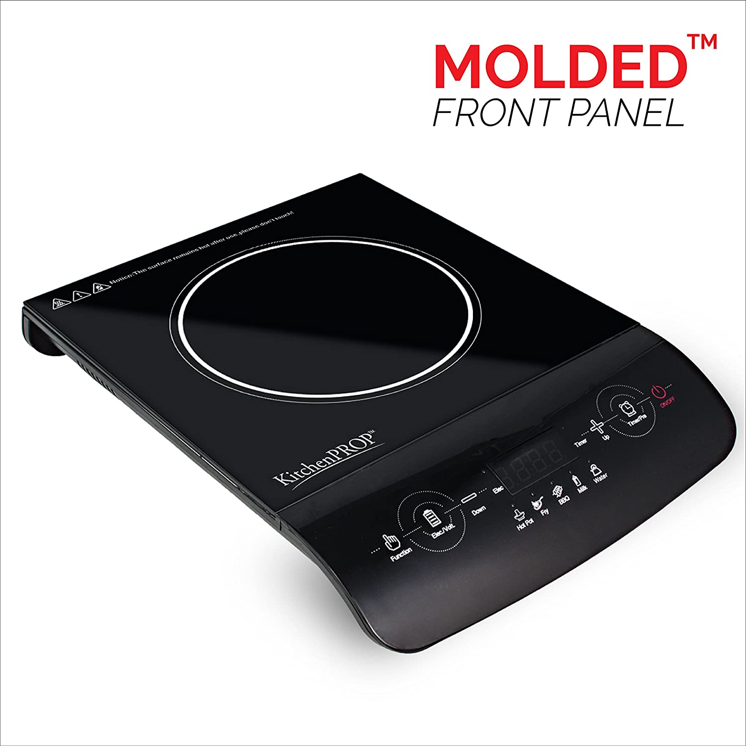 Amazon.com: INDUXPERT Portable Induction Cooktop 1800W with Power ...