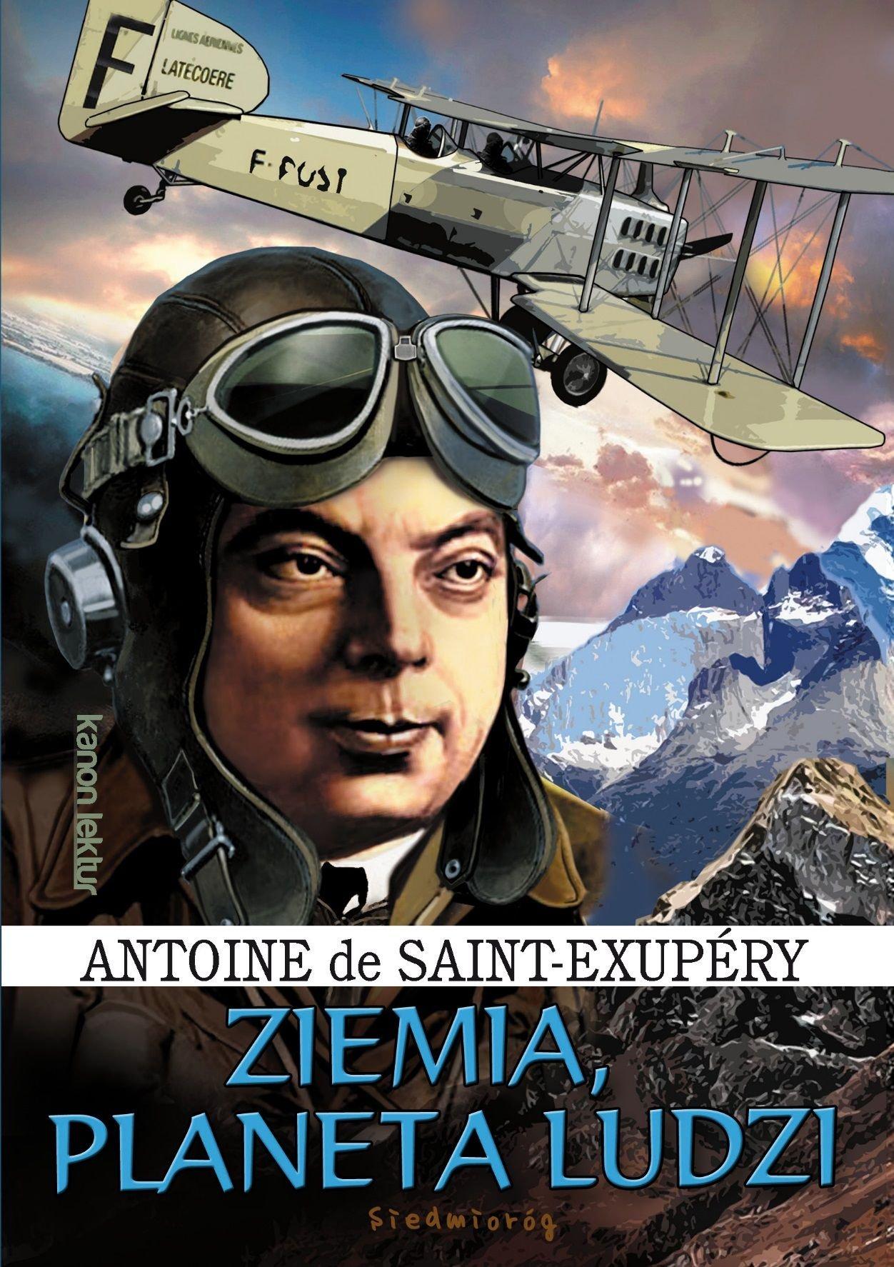 Ziemia Planeta Ludzi Antoine De Saint Exupery 9788377916568