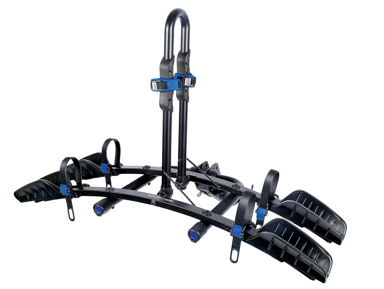 Advantage SportsRack Heininger FlatRack 2-Bike Platform Hitch Mounted Rack, Fits 1.25-Inch and 2-Inch 2035