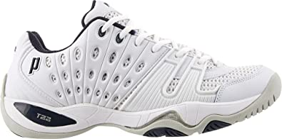 69a09c0367ba Prince Men s T-22 Tennis Shoes (8-M