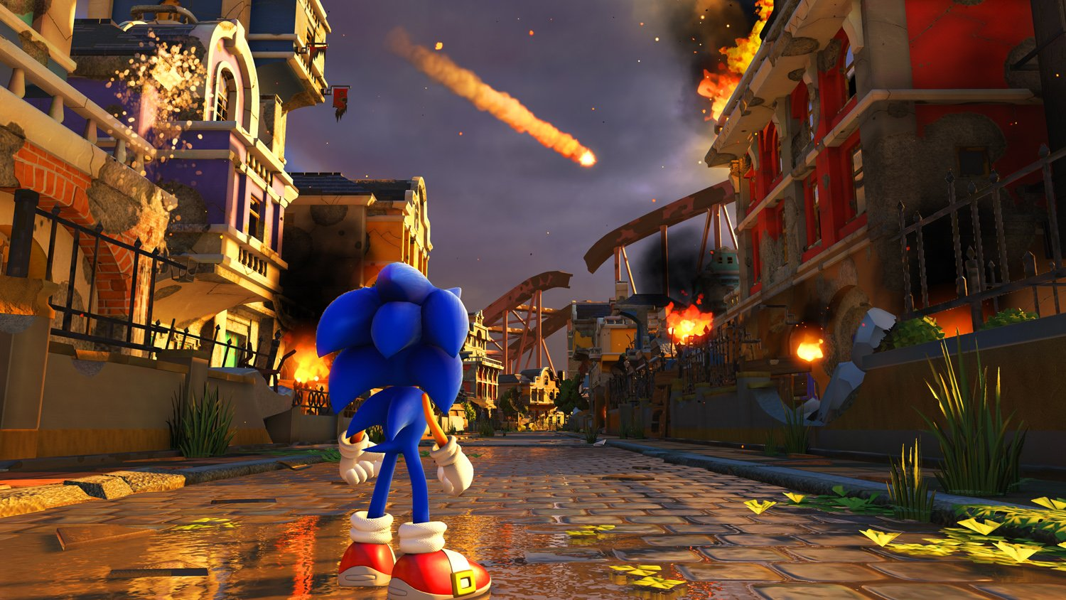 sonic forces, sonic modern